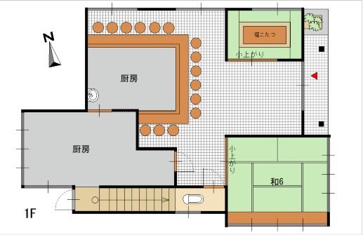 1階:店舗
